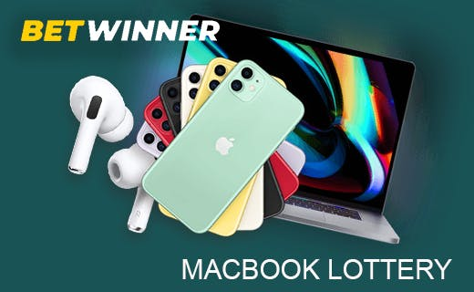 Betwinner macbook lottery