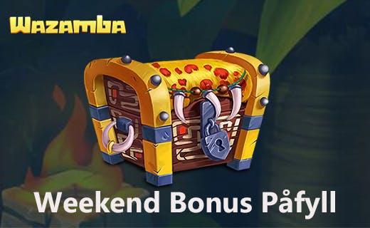 Wazamba weekend bonus