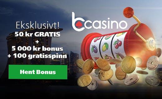 Bcasino nye casinobonus