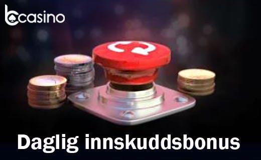 Bcasino daglig bonus