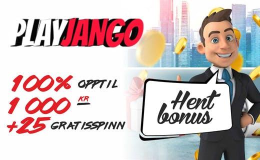 Play jango casinobonus