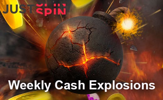 Justspin weekly cash explosion