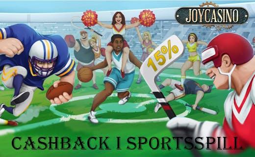 Joycasino cashback