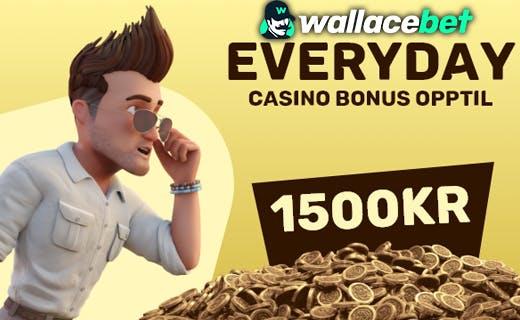 Wallacabet everyday bonus