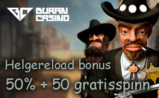 Buran casino weekly reload bonus