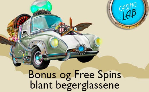 Casino lab bonus or free spins