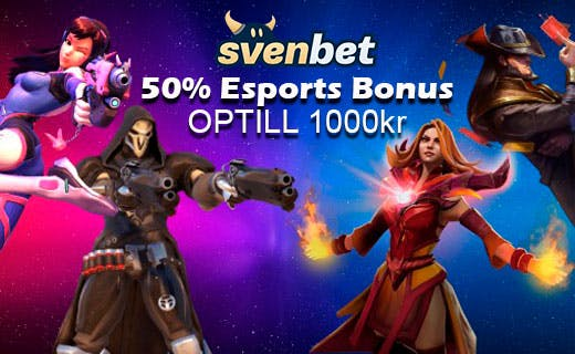 Svenbet esports bonus