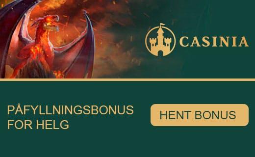 Casinia tilbud