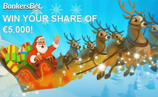 Bonkersbet casino bonus christmas