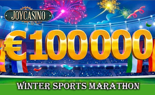 Joycasino winter sports marathon