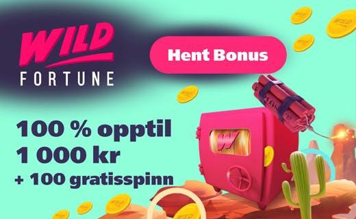 Wild fortune casinobonus