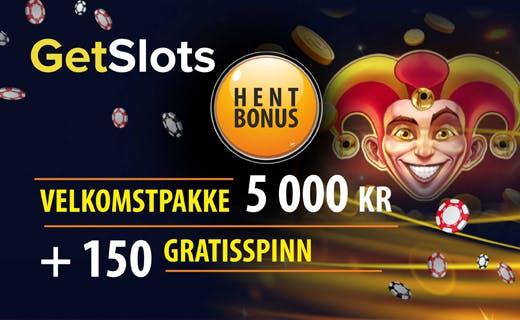 Getslots casinobonus
