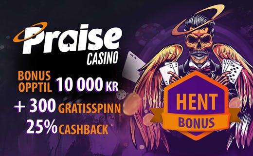 Praise casinobonus