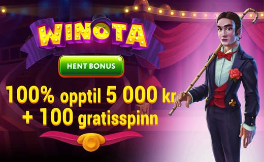 Winota casinobonus