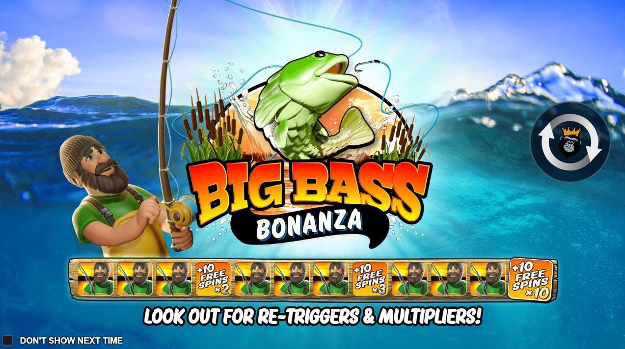 Big Bass Bonanza fra Pragmatic Play!