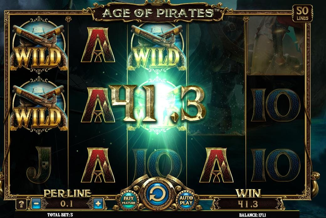 Dagens største gevinst på Age of Pirates – 41 kroner!
