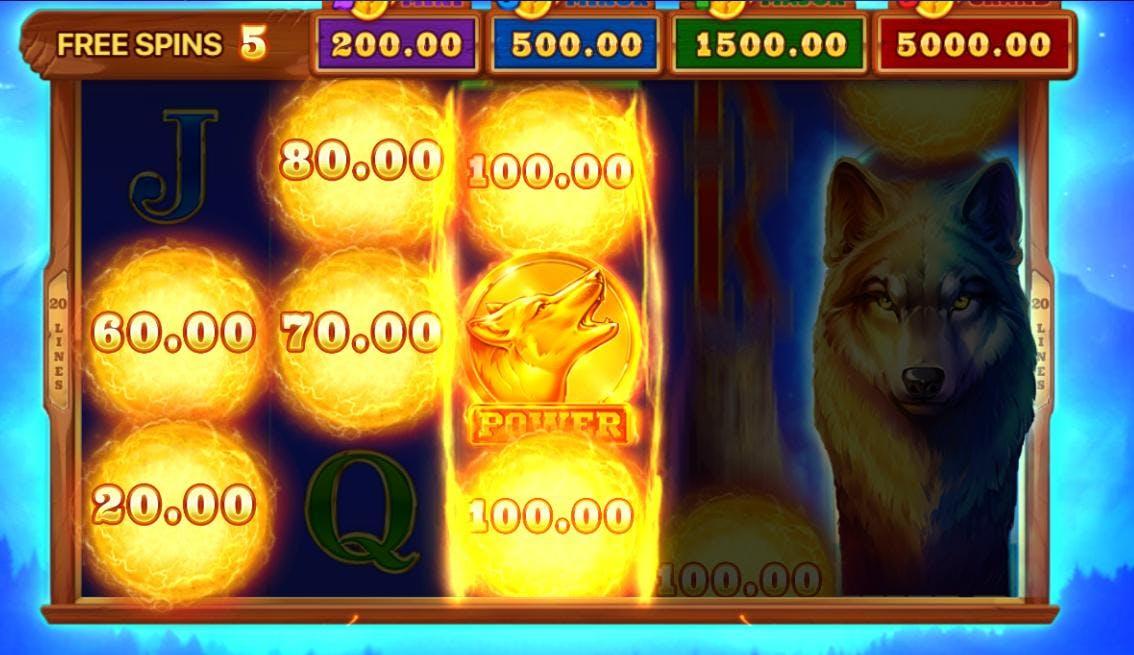 Nærme bonusspillet hvor man kan vinne jackpoter!