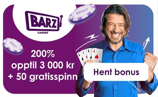 Barz casinobonus
